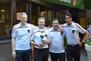 Pokal Mannschaft 2018 - 2. Platz - Billard Bianco Dieburg