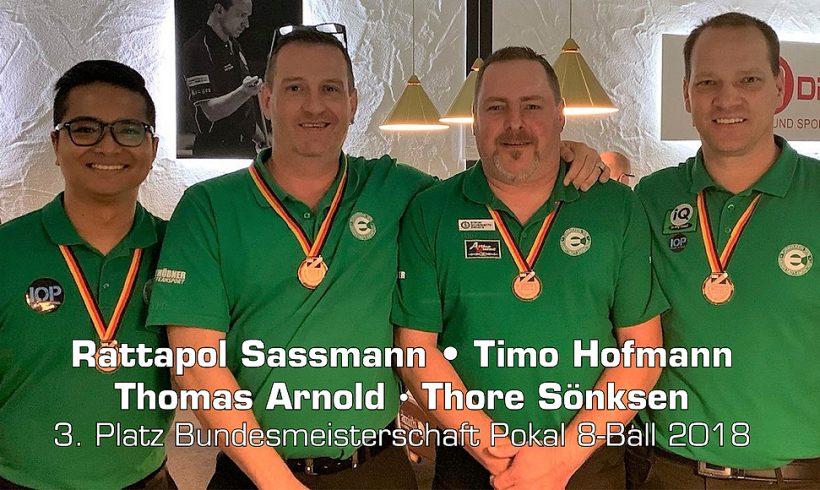 Bundesmeisterschaften Senioren Mannschaft und 8-Ball Pokal
