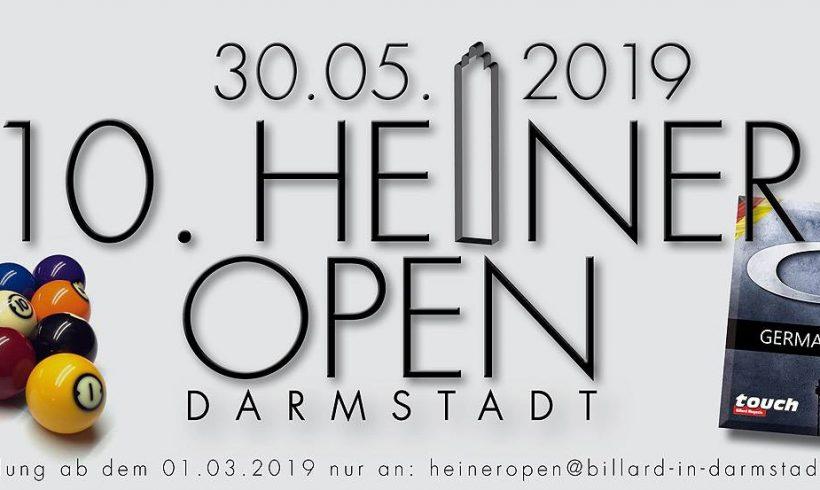 Ausblick 10. Heiner Open